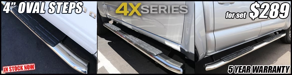 4-inch-oval-stainless-steel-nerf-bars-in-tucson-arizona