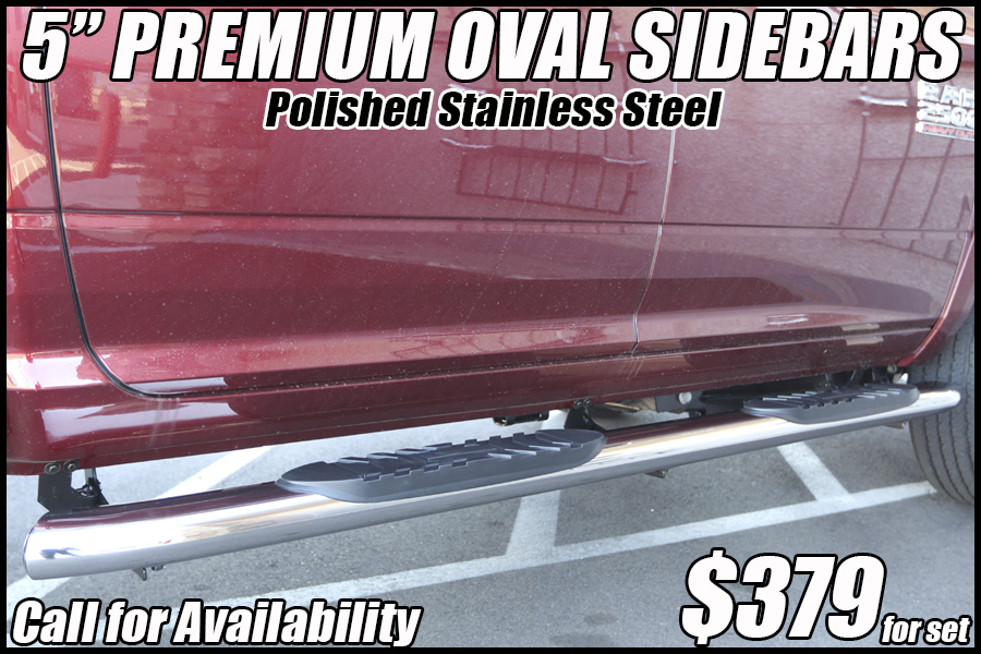 5 inch oval nerf bars truck running boards tucson arizona accessories