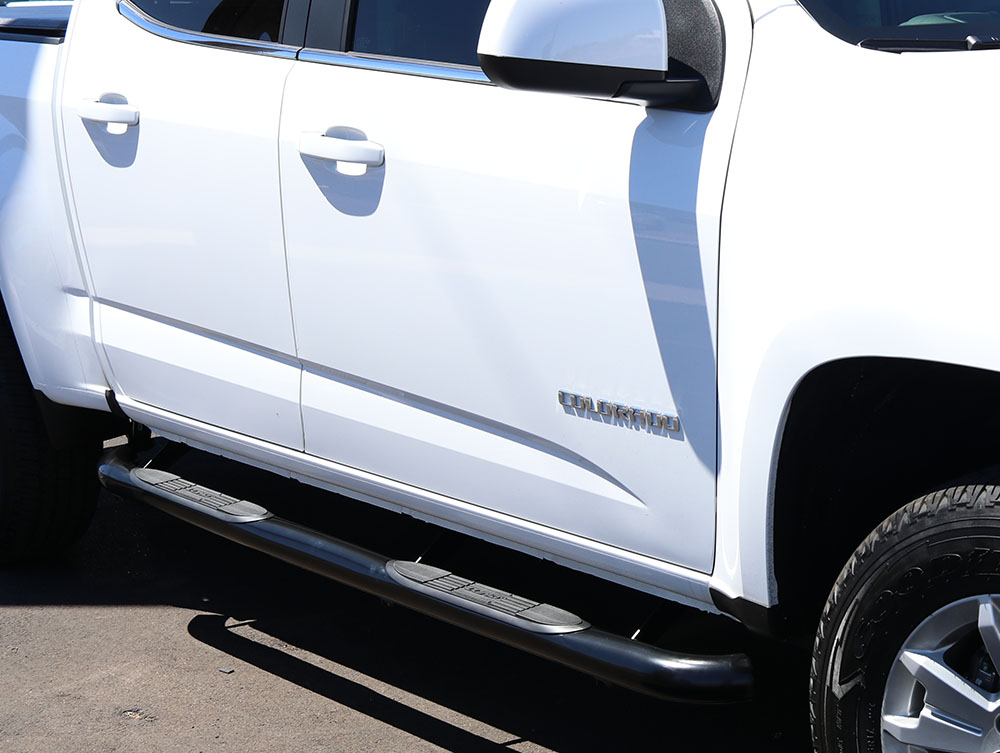 Chevy Colorado 3 Inch Black Side Bars