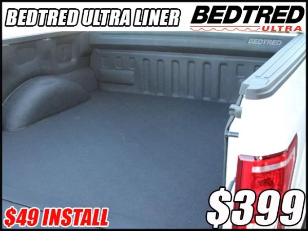 bedtred spray on bed liners in tucson arizona