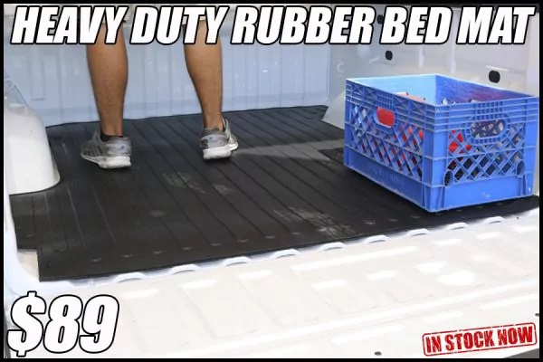 rubber truck bed mat protection in tucson arizona