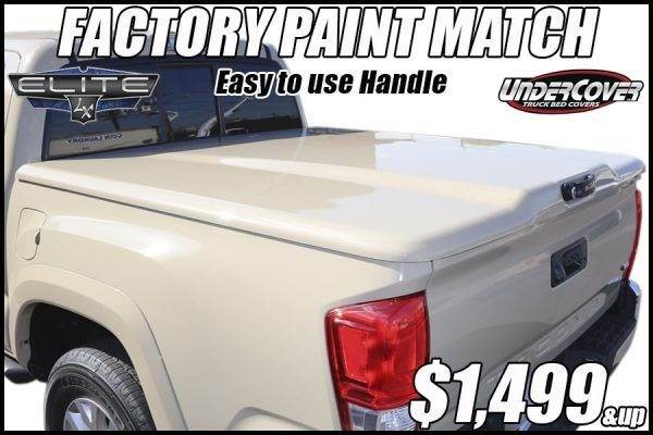 UnderCover Elite Ram Truck Bed Cover