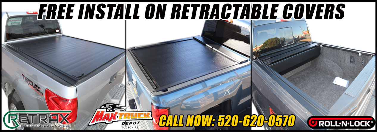 RETRACTABLE TONNEAU COVERS IN TUCSON ARIZONA