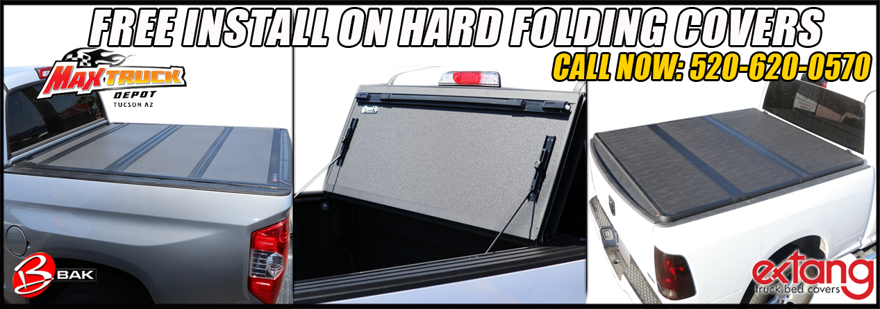 hard folding tonneau cover in tucson arizona