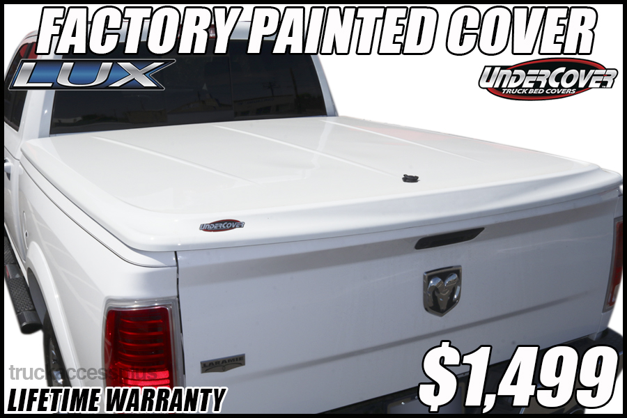 UnderCover LUX Painted Truck Covers