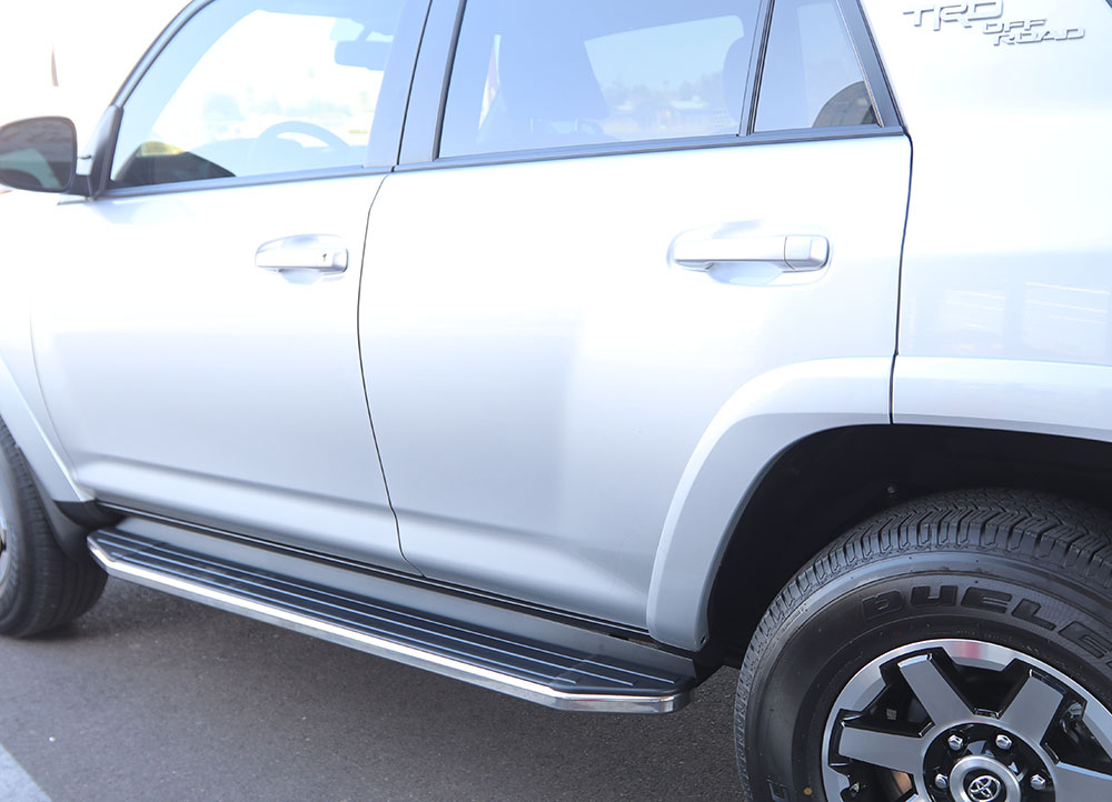 TOYOTA 4RUNNER TUCSON RUNNING BOARDS
