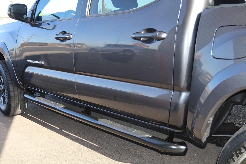 Toyota Tacoma 3 Inch Round Nerf Bars