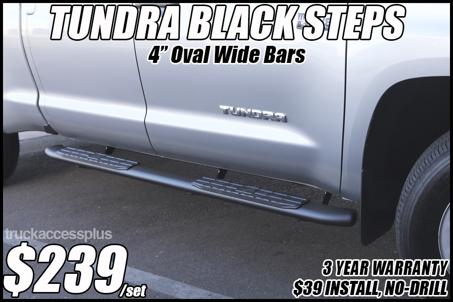 toyota tundra black nerf bars in tucson az