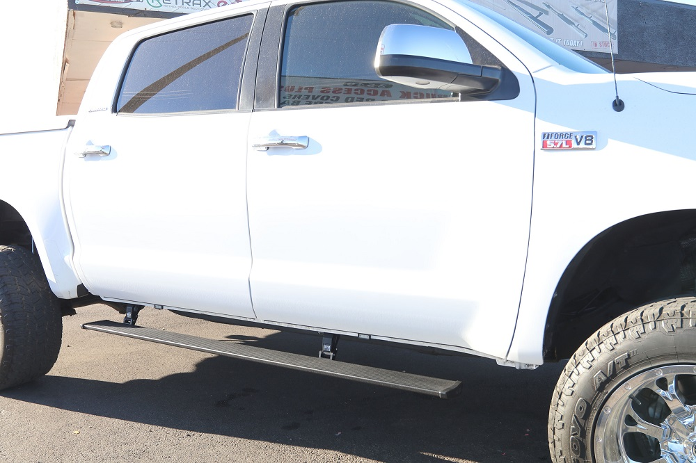 Toyota Tundra CrewMax AMP PowerSteps Running Boards
