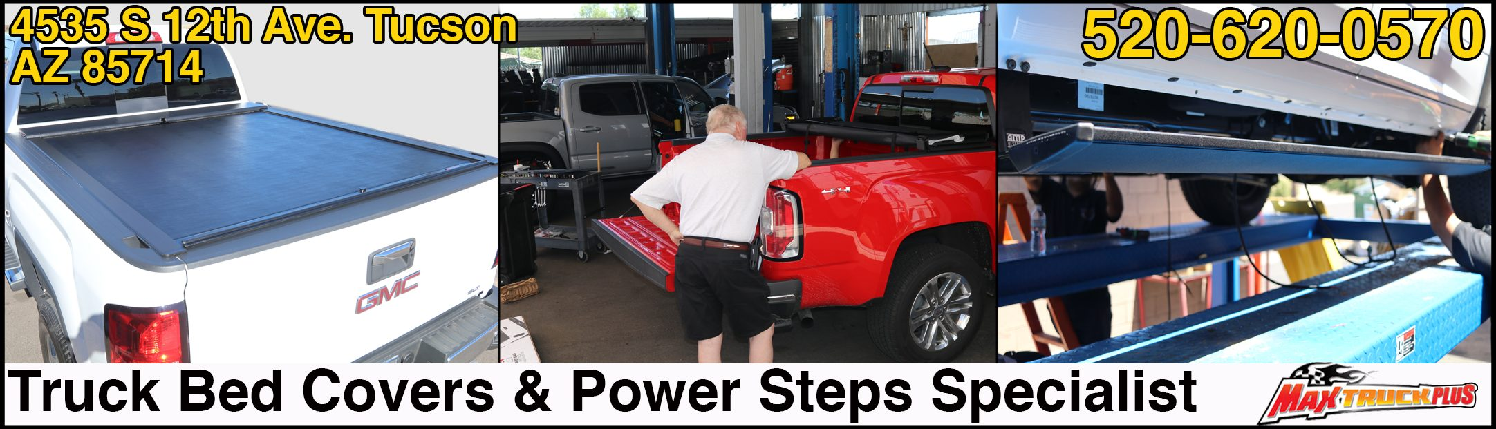 truck bed covers and running boards tucson az