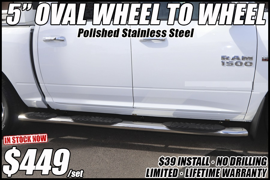 wheel to wheel nerf bars truck running boards in tucson arizona