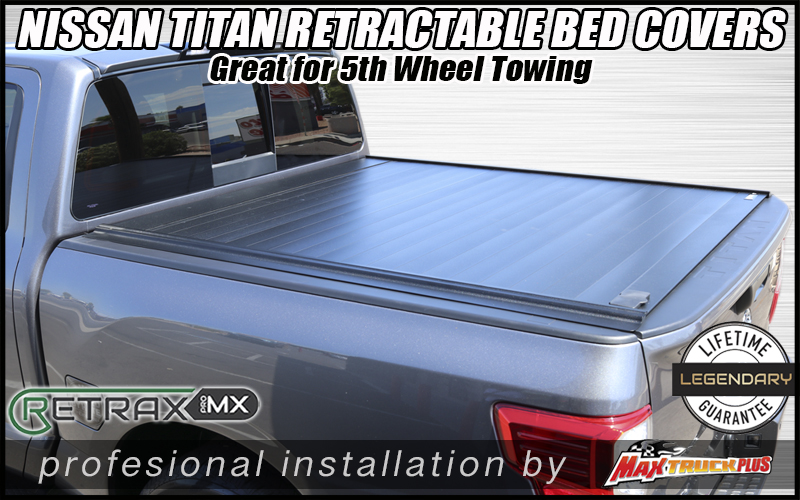 nissan titan retraxpro mx truck bed cover in tucson az