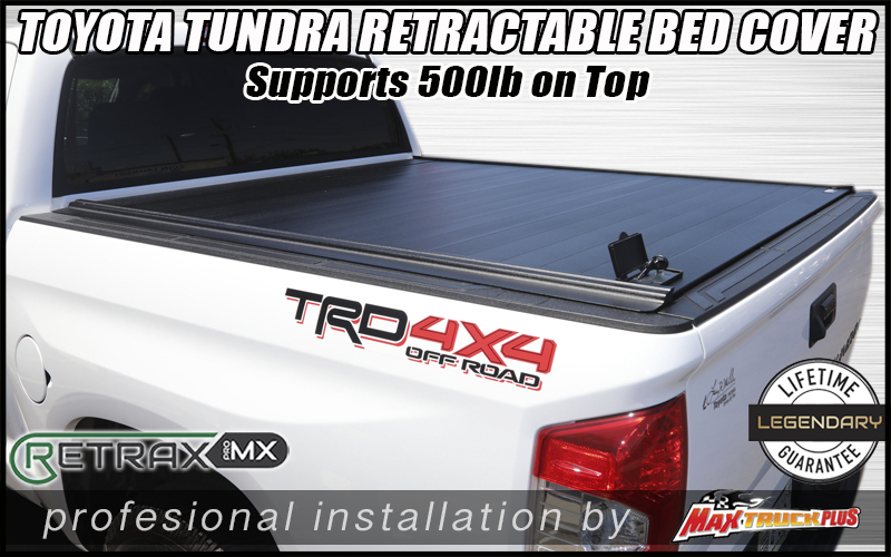 toyota tundra retraxpro mx truck bed cover in tucson az