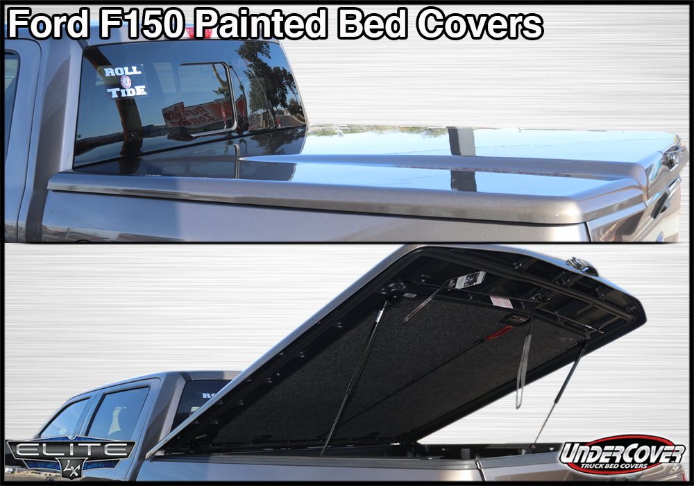ford f150 painted truck bed cover in tucson az