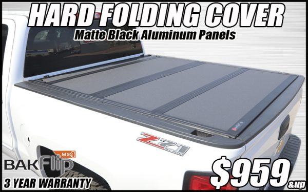 bakflip mx4 hard folding truck bed cover in tucson arizona